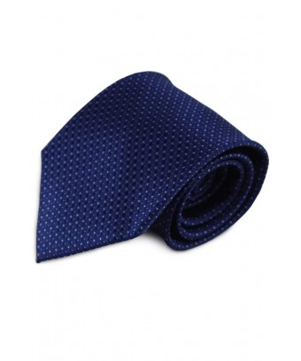 KRAVATA Modrá s jemným vzorem