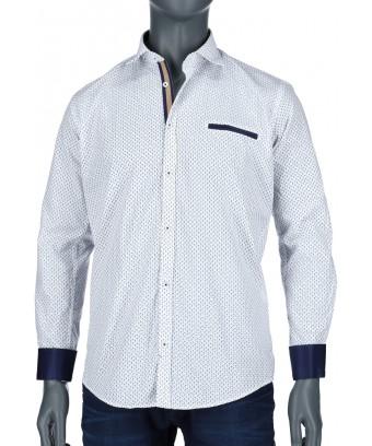 REPABLO bílá elegantní košile
