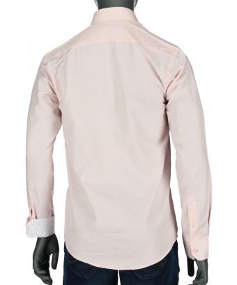 REPABLO lososová slim košile