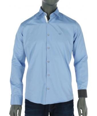REPABLO světle modrá slim košile ... a00fd695f1