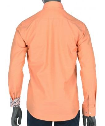 REPABLO svěží slim oranžová košile REPABLO svěží slim oranžová košile 9916efb0f2