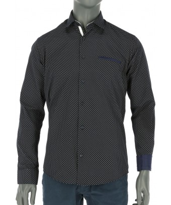 REPABLO černá košile