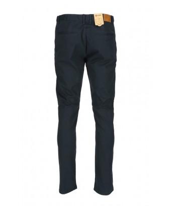 REPABLO modročerné plátěné kalhoty