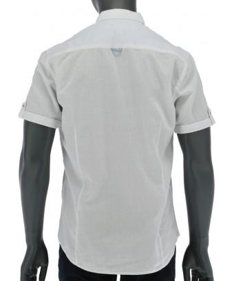 REPABLO bílá slim fit košile