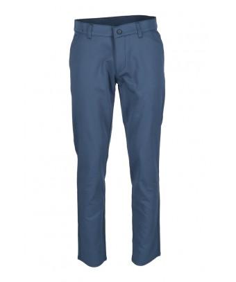 REPABLO modré plátěné kalhoty