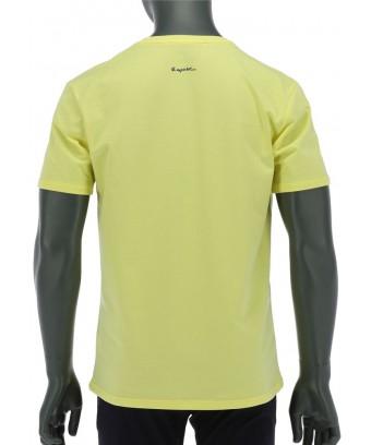 REPABLO žluté triko s nápisem Baech Club