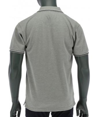 REPABLO šedé polo triko