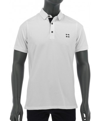 REPABLO bílé polo triko