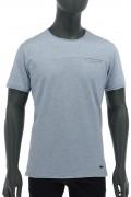 REPABLO modré triko s kapsičkou
