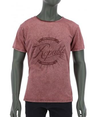 REPABLO fialové triko s logem Repablo