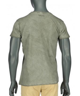 REPABLO zelené triko s logem vepředu