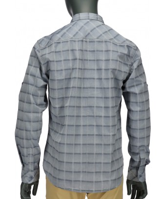 REPABLO modrá károvaná košile