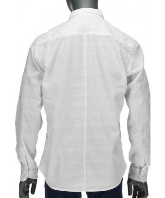 REPABLO bílá košile s se znakem R