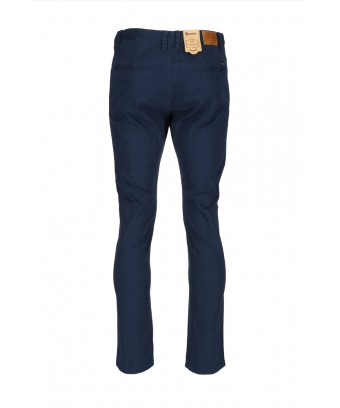 REPABLO modré semišové  kalhoty