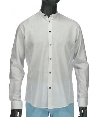 REPABLO zcela bílá košile