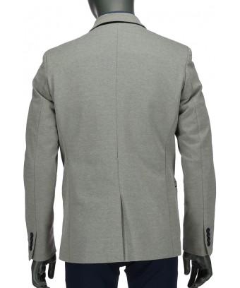 REPABLO šedé sako s černými detaily