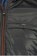 REPABLO bunda F5 lesklá modročerná
