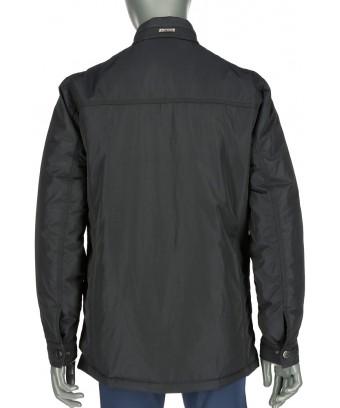 REPABLO tmavě modrá bunda wall street s kapsami na zip