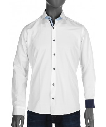 REPABLO Pánská košile clasic BÍLÁ ... e9191c4ee5