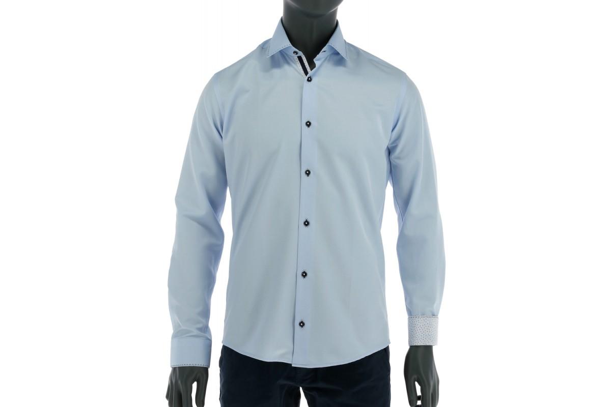 REPABLO Pánská košile clasic SVĚTLE MODRÁ - REPABLO 0164 0b3b95b9f8