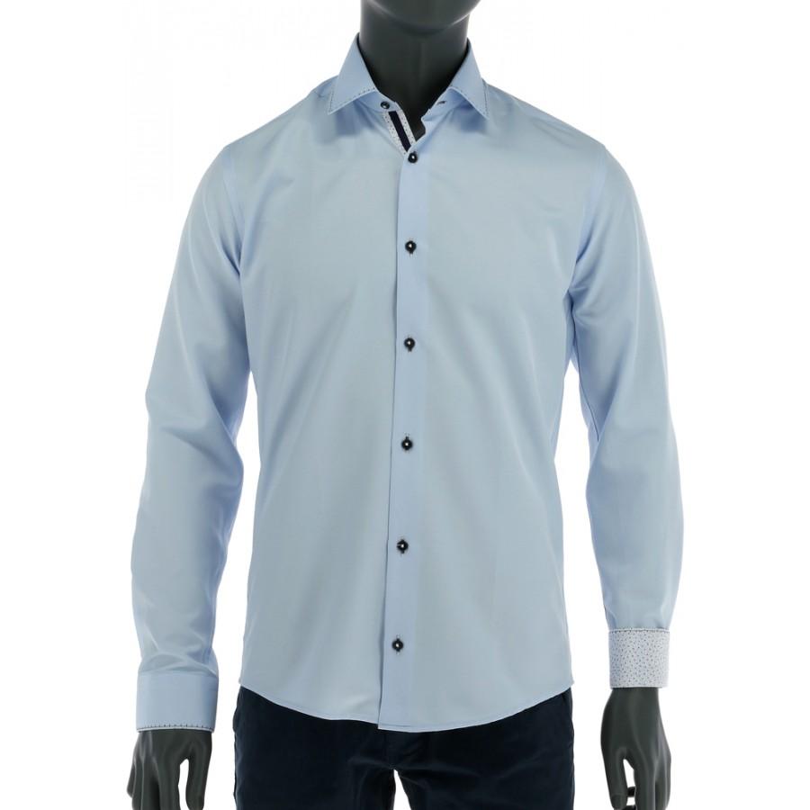 REPABLO Pánská košile clasic SVĚTLE MODRÁ - REPABLO 0164 03b05e008d