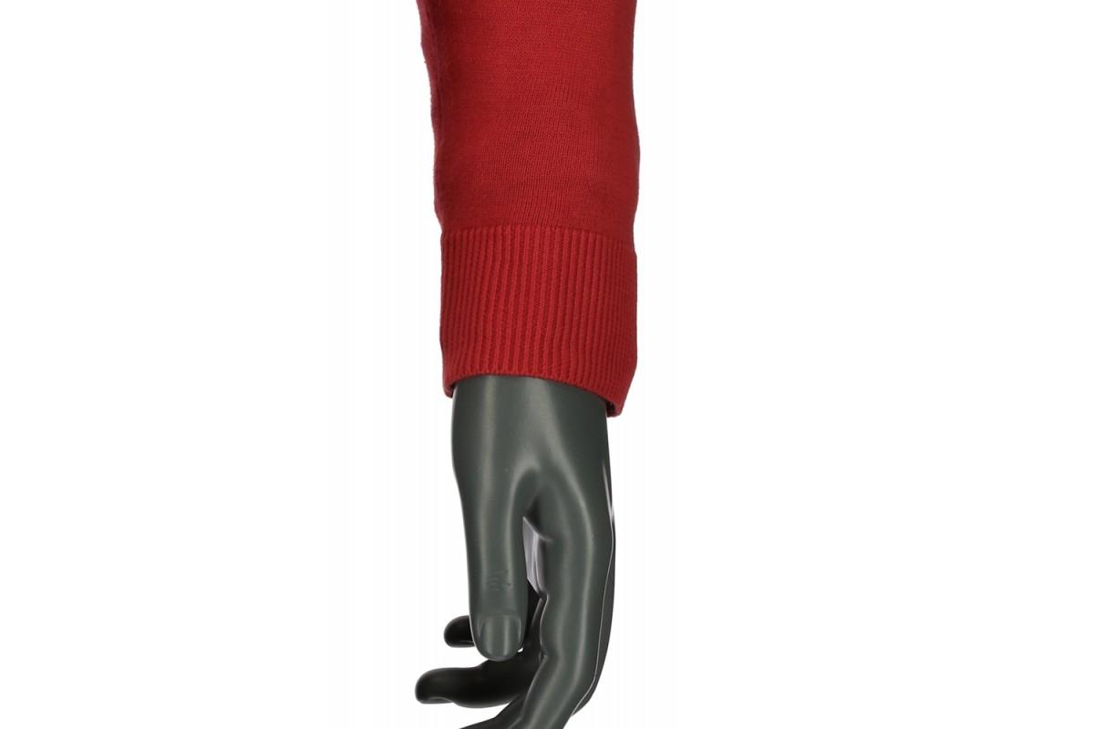 REPABLO červený svetr do véčka - SW 100-13 ffef116502