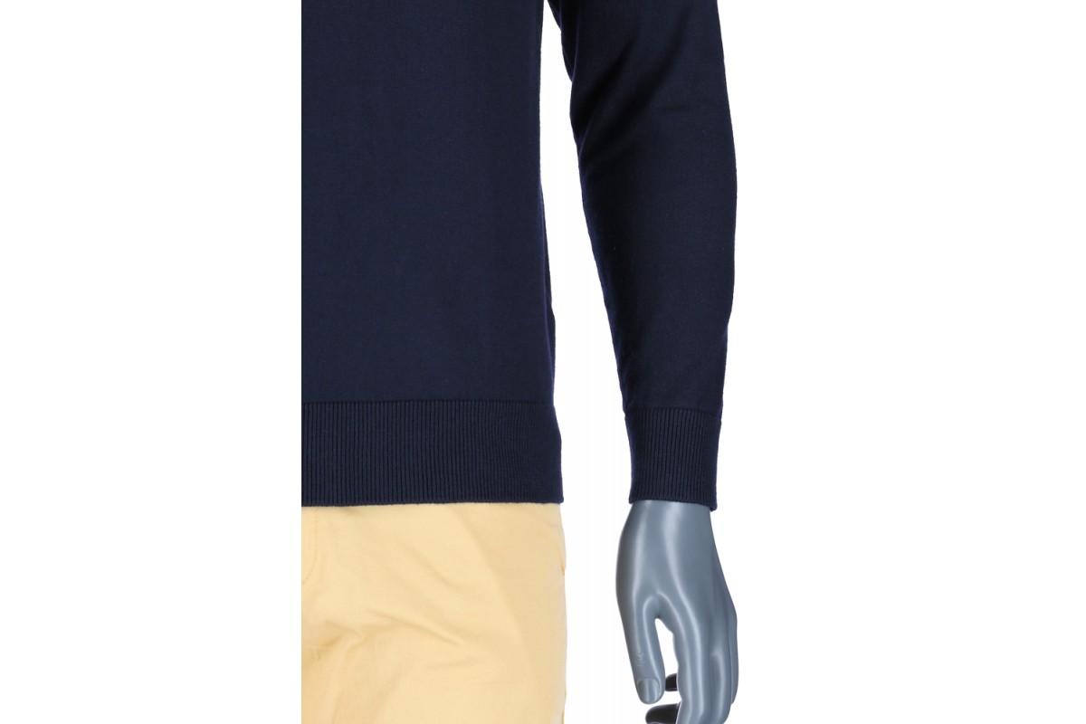 REPABLO tmavě modrý svetr do společnosti - SW 900-2 7ae31eab2c